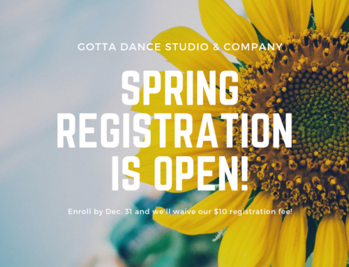 Spring Registration is OPEN!